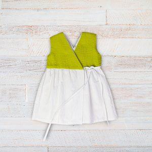 Rochita in premium verde alb
