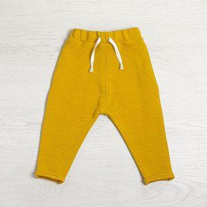 Pantaloni bumbac mustar