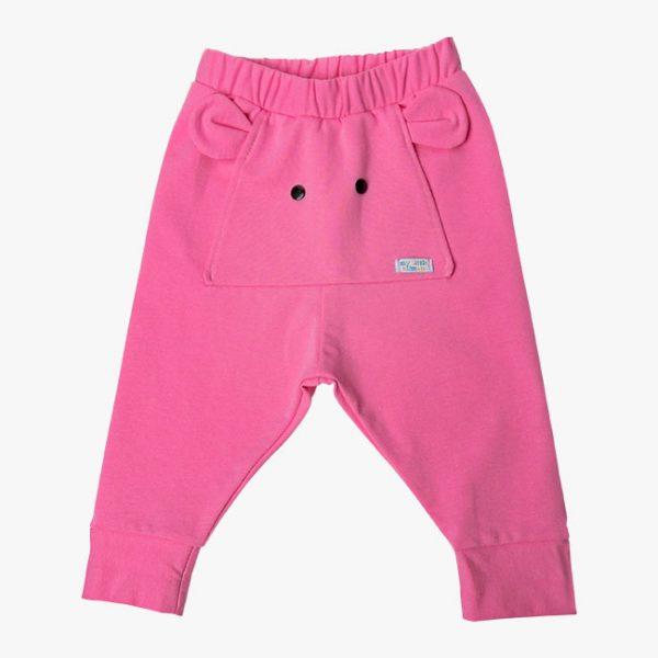 Pantaloni elefant roz